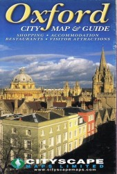 Oxford. City map & guide