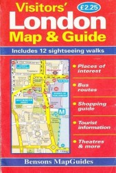 Visitors' London Map & Guide