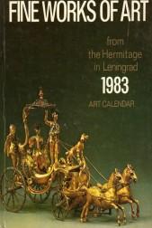 Fine works of art. 1983 art calendar
