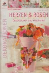 Herzen und Rosen. Dekorationen und Gerschenke