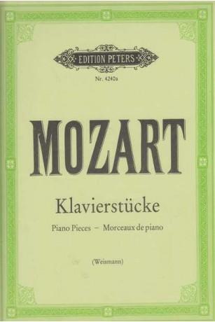 Klavierstucke. Piano Pieces - Morceaux de piano
