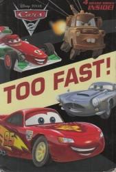 Too Fast! 4 Board Books Inside!